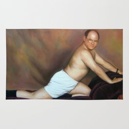 George Costanza Painting Rug