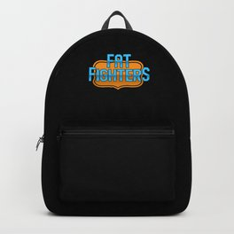 Fat Fighters Overweight Weight Healthy Belly Gift Backpack
