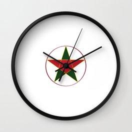 Vietnamese Mid-Autumn Star Lantern  Wall Clock