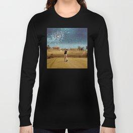 Broken Glass Sky Long Sleeve T-shirt