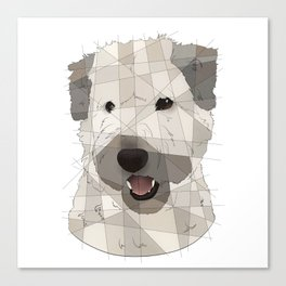 Wheaton Terrier Canvas Print