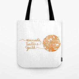 MKG Yarn - Orange Tote Bag