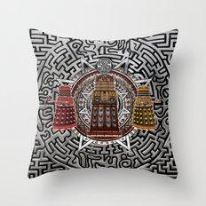 Aztec Dalek Tardis doctor who iPhone 4 4s 5 5c 6, pillow case, mugs and tshirt Throw Pillow