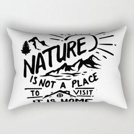 Nature is home Rectangular Pillow
