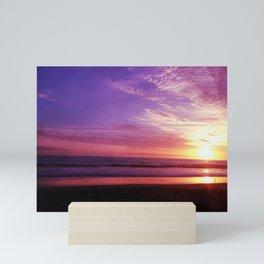 Purple Daze Mini Art Print