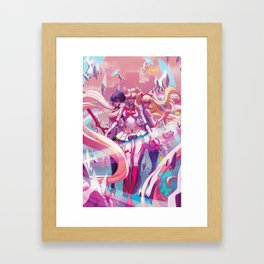 Three's A Charm Framed Art Print