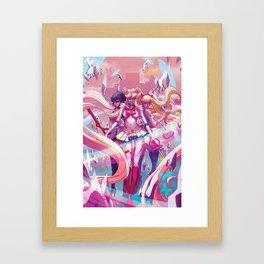 Three's A Charm Framed Art Print