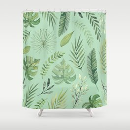 Leaves 10 Shower Curtain