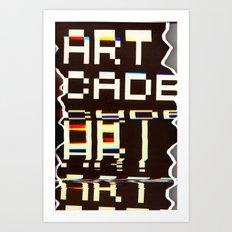 Artcade Art Print