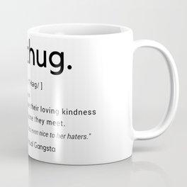 LoveThug Definition Black & White Design Coffee Mug