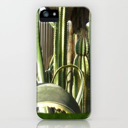 Cactus Garden Blank P1F0 iPhone Case