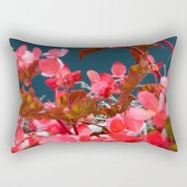 Bay Side Pink Rectangular Pillow