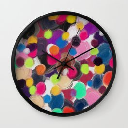 Spotted Wall Clock