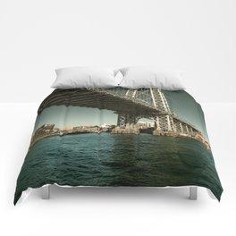 Williamsburg Bridge Comforters