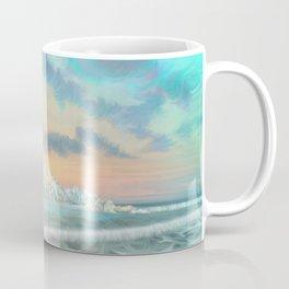Frozen waves Coffee Mug