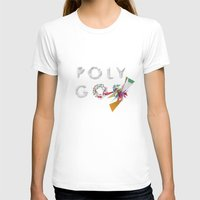 polygon T-shirts featuring LOW POLYGON by mountstar