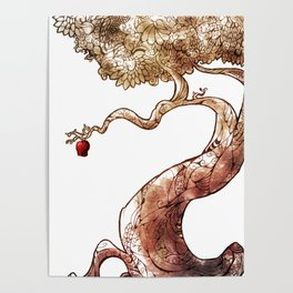 Red and Crooked Poster