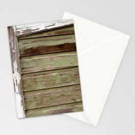 Green Paint Stationery Cards