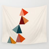 balance Wall Tapestries featuring Balance by Tammy Kushnir