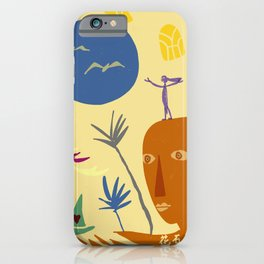 light years of rock blooms iPhone Case