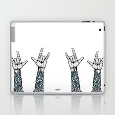 Double Rock Sleeve Laptop & iPad Skin