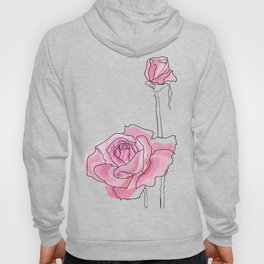 Roses - positive and negative Hoody