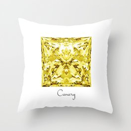 Canary Throw Pillow