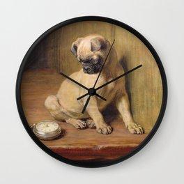 Briton Riviere - Tick Tack. Wall Clock