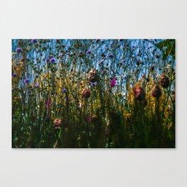 flow Canvas Print