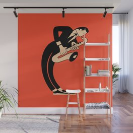 The Saxophonist Wall Mural
