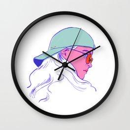 girl2 Wall Clock