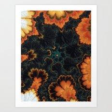 Pumpkin Patch Papi Art Print