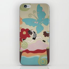 Leap of Faith - painting - Wild Veda iPhone Skin