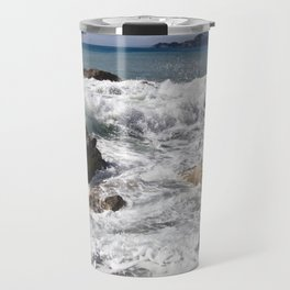 The Power of Sea - Sicily Travel Mug