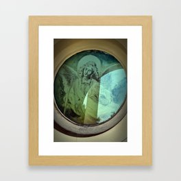 Get close to Heaven Framed Art Print