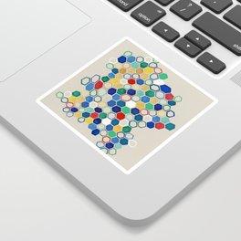 hex study Sticker