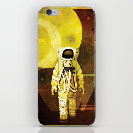 Space walk iPhone & iPod Skin