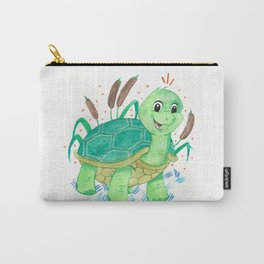 Turtle Nursery Illustration Carry-All Pouch