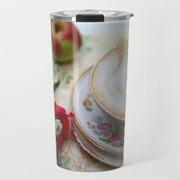 Latte Teacup & Country Diary Travel Mug