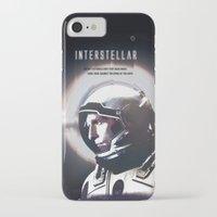 interstellar iPhone & iPod Cases featuring interstellar by Saalk
