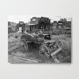 Old Virginia City Mining Town, Nevada Metal Print