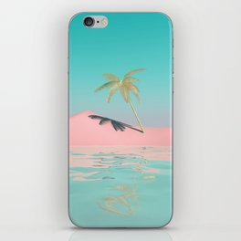 Palm Tree Oasis iPhone Skin