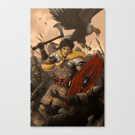 The Fury Canvas Print