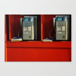 Japanese Payphone Canvas Print