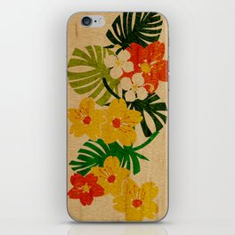 Limahuli Garden Hawaiian Floral Design iPhone Skin