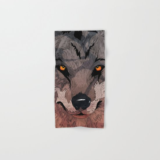 Wolf Mother Hand & Bath Towel