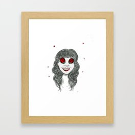 Lady Buggin Framed Art Print