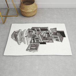 Deconstructed House Rug