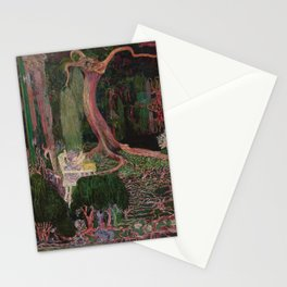 The New Generation by Jan Toorop Stationery Cards