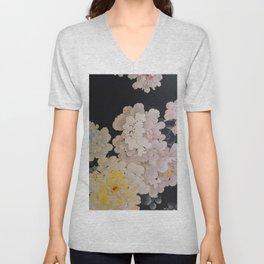 Floral Pop Wallpaper Unisex V-Neck